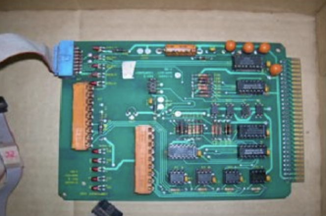 Electric circuit board after